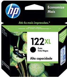 CARTUCHO HP 122-XL  PRETO - CH563-HB