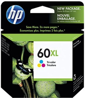 CARTUCHO HP CC644-WB - HP 60 XL TRICOLOR