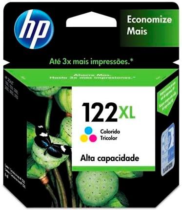 CARTUCHO HP 122-XL TRICOLOR - CH564-HB
