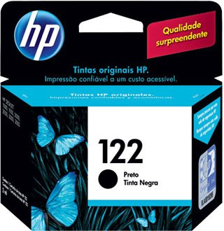 CARTUCHO HP 122   PRETO - CH561-HB