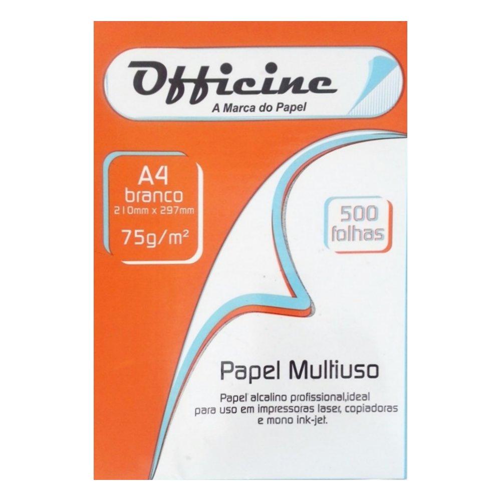 PAPEL OFFICINE  A4 BRANCO 500 fls