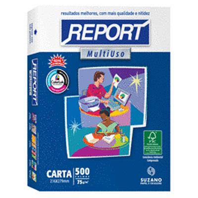PAPEL REPORT  CARTA  500 fls