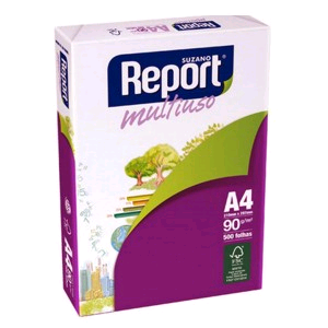 PAPEL REPORT  A4   BRANCO  90G
