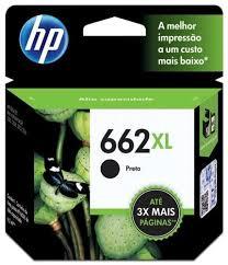 CARTUCHO HP 662-XL - PRETO CZ 105-AB