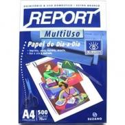 PAPEL REPORT  A4 BRANCO 500 fls