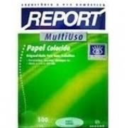PAPEL REPORT  A4 VERDE  500 fls