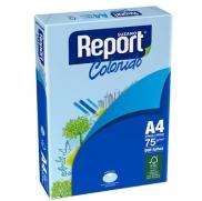 PAPEL REPORT  A4  AZUL  500 fls