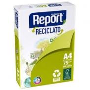 PAPEL  REPORT  A4 RECICLATO 500 fls