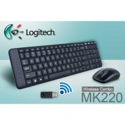 KIT WIRELESS LOGITECH MK 220 TECLADO E MOUSE